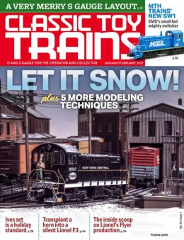 Classic Toy Trains - One Year Subscription