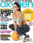 Magazine Cover Image. Title: Oxygen - One Year Subscription
