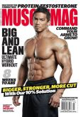 Magazine Cover Image. Title: Muscle Mag - One Year Subscription