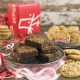 Product Image. Title: Traditional Brownie & Cookie Holiday Gift Medley