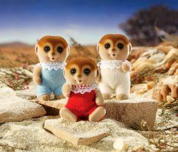 Calico Critters Spotter Meerkat Triplets