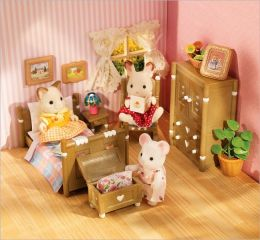 Calico Critters - Country Bedroom Set