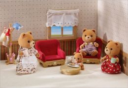 Calico Critters - Country Living Room Set