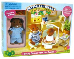 Calico Critters - Becky Beaver visits the Dentist