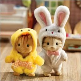 Calico Critters - Bunny & Chick Cosume Set