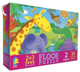 Cute Creatures Floor Puzzle
