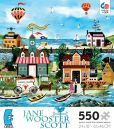 Product Image. Title: Jane Wooster Scott Easy Breezy Days 550 pc Puzzle