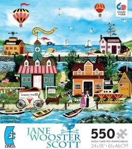 Jane Wooster Scott Easy Breezy Days 550 pc Puzzle