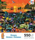 Product Image. Title: 550pc Puzzle Oceans - South China Seas
