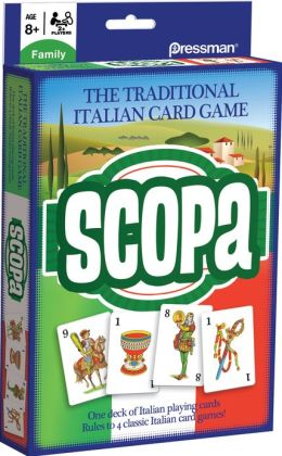 Scopa Travel Card Game