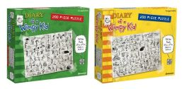 Diary of a Wimpy Kid 200-piece puzzle 2-pack