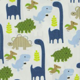 Triboro Jill McDonald Adorable Dino Crib Sheet