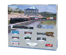 Empire Builder N Scale Electric Train Set