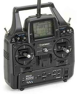 Airtronics AIR90354TXRX Transmitter Rds8000 2.4Ghz Mode2 with 1-Tx/1-Rx