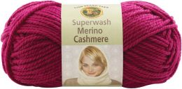 Superwash Merino Cashmere Yarn-Sangria