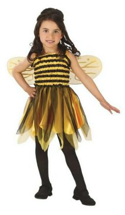 Bumble Bee Child Costume: Size 4-6