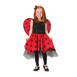 Lady Bug with Wings Toddler/Child Costume: Size Medium (4-6)