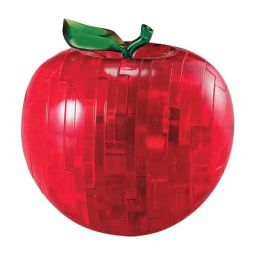 Crystal Puzzles - Apple (Red) 44 pc puzzle