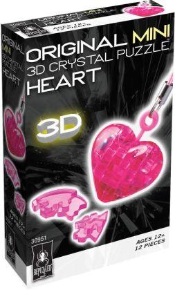Mini 3D Crystal Puzzle - Heart