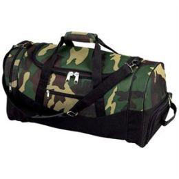 Camo 23 Inch 600D Duffle Bag