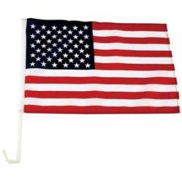 12X18 Usa Flag On 18 In. Car Pole