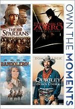300 Spartans/the Mark of Zorro/Bandolero!/Quigley down under