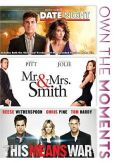 Video/DVD. Title: Date Night/Mr. & Mrs. Smith/the Means War