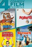 Video/DVD. Title: Bachelor Party/Porky's/Revenge of the Nerds/Weekend at Bernie's