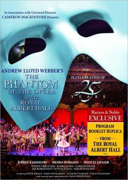 Phantom of the Opera: 25th Anniversary Live at the Royal Albert Hall (Barnes & Noble Exclusive)