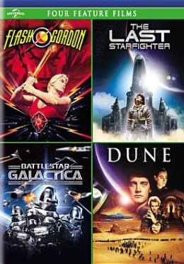 Flash Gordon/Last Starfighter/Battlestar Galactica/Dune