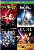 Video/DVD. Title: Flash Gordon/Last Starfighter/Battlestar Galactica/Dune