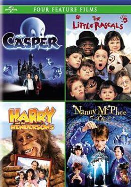 Casper/Little Rascals/Harry & the Hendersons/Nanny Mcphee
