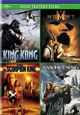 King Kong/Mummy/Scorpion King/Van Helsing