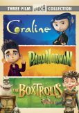 Video/DVD. Title: Boxtrolls / Paranorman / Coraline Triple Feature