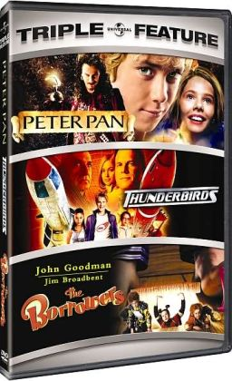 Peter Pan & Thunderbirds & The Borrowers