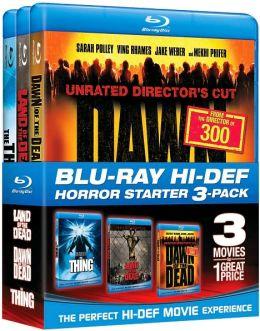 Blu-Ray Hi-Def Horror Starter 3-Pack