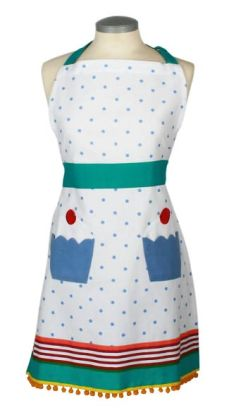 Boxed Cupcake Adult Apron