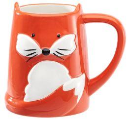 Fox Mug in Gift Box, 16 oz.