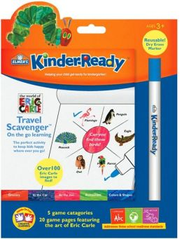 Kinder-Ready Travel Scavenger