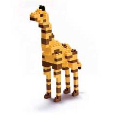 nanoblock Micro-Sized Building Block Set, Giraffe