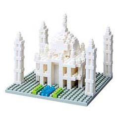 nanoblock Micro-Sized Building Block Set, Taj Mahal