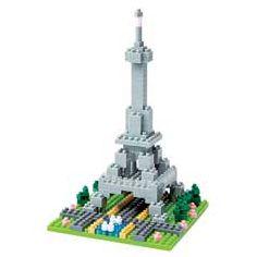 nanoblock Micro-Sized Building Block Set, Eiffel Tower