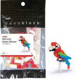 nanoblock Red and Green Macau