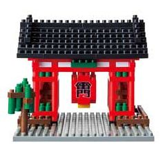 nanoblock Micro-Sized Building Block Set, Kaminarimon
