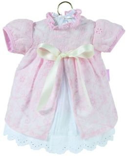 Corolle Pink Eyelet Dress fits 14 inch Doll