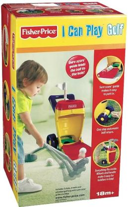 Fisher Price I Can Play Golf