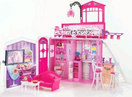 BARBIE Glam Vacation House!