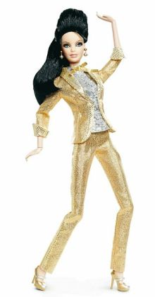 BARBIE Collector - Famous Friends - Barbie Loves Elvis Doll