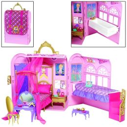 BARBIE Princess Charm School Bed and Bath Playset