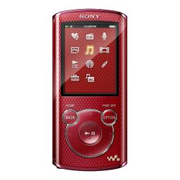 Sony Walkman NWZ-E464RED 8 GB Red Flash Portable Media Player